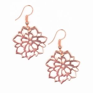 Copper earrings paparazzi